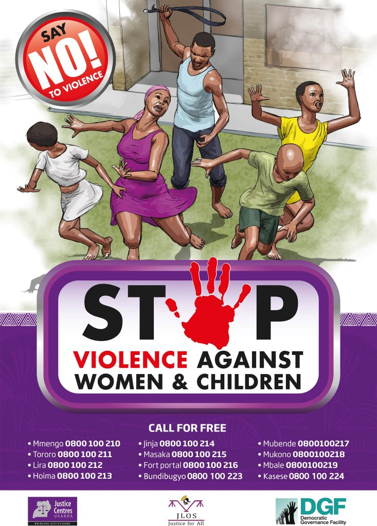 JCU materials to download: action against domestic violence