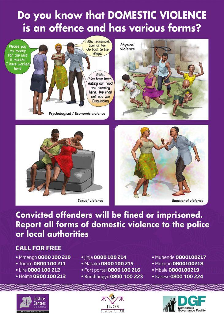 JCU materials to download: Domestic Violence
