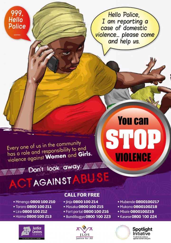 JCU download Materials: Poster Act against abuse/ Gender-based Violence