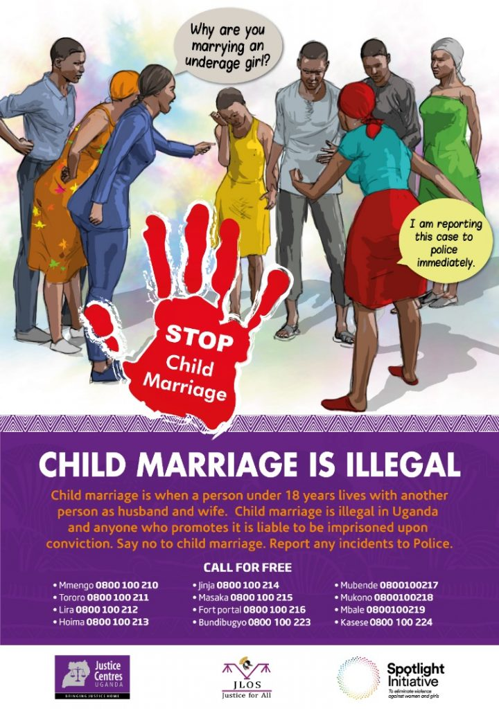 JCU download Materials: Poster Child Marriage