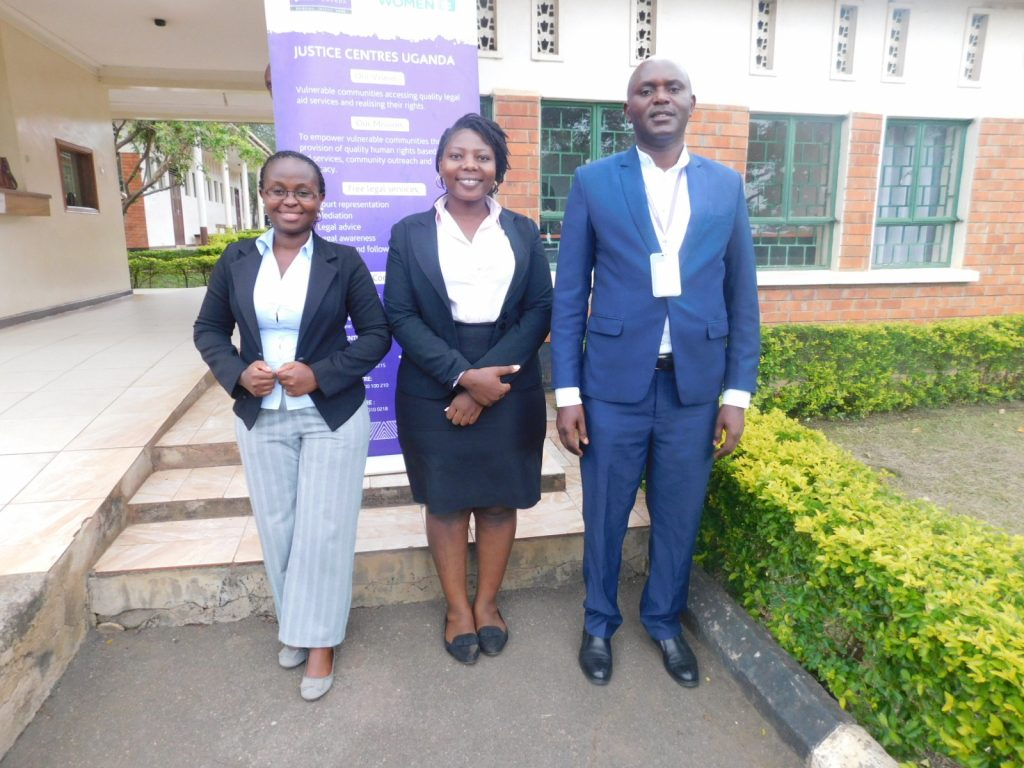 Justice Centres Team Kasese