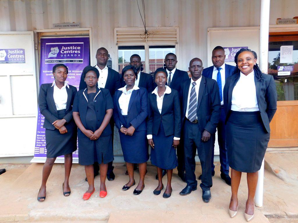 Justice Centres Team Lira