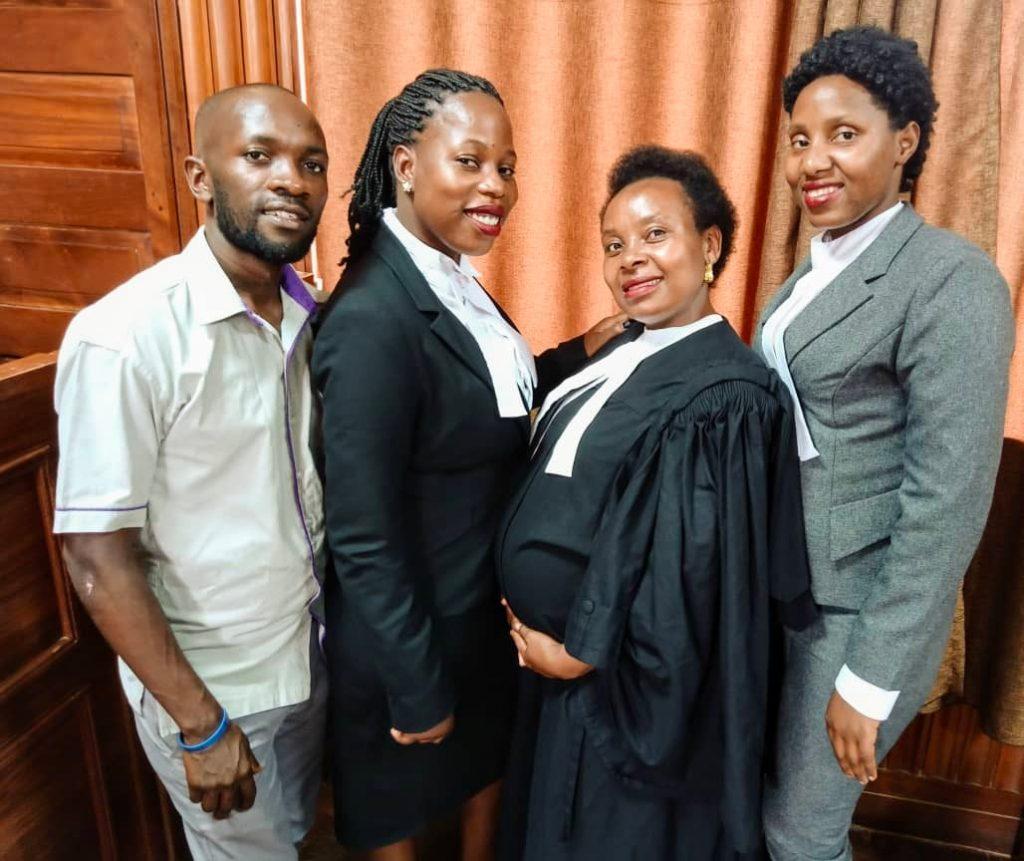 Justice Centres Uganda Team Masaka