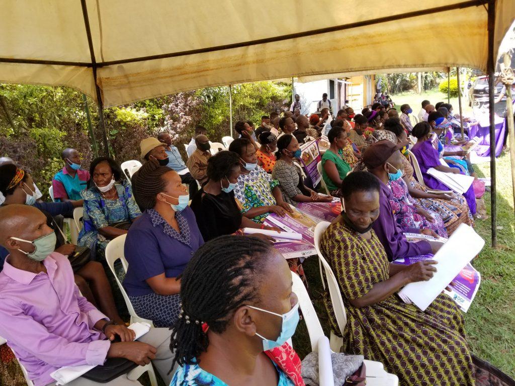 Justice Centres Uganda outreach