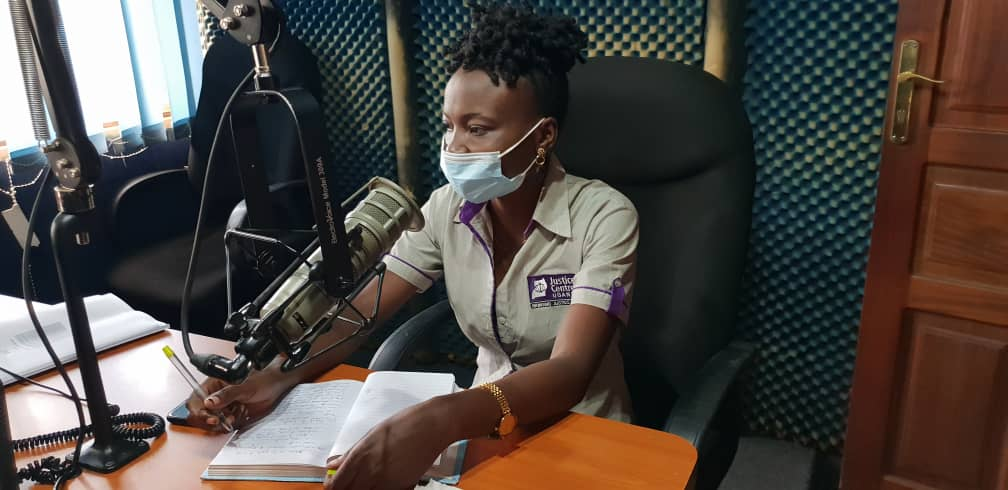 The Mmengo Centre Manager - Gorreth Ayebale discusses JCU services and Health Rights on Dembe FM 90.4