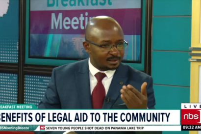 NBS TV Interview with JCU's National Coordinator Aaron Besigye about the importance of legal aid