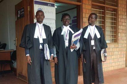 JCU lawyers after plea bargaining in Mubende
